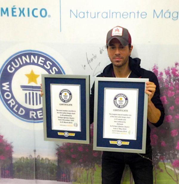 Enrique sets Guinness Record