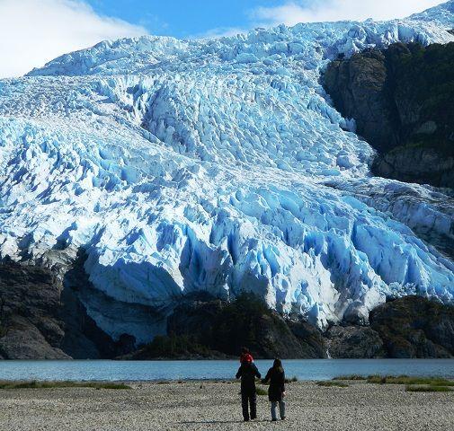 Glacier near Ushuaia
