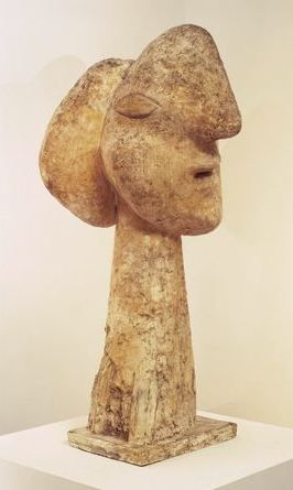 Head of a woman, Sculpture made by Pablo Picasso