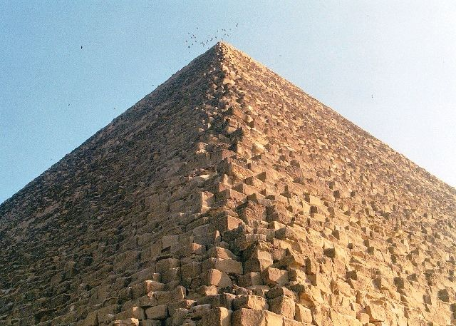 Heavy Stones of Pyramid