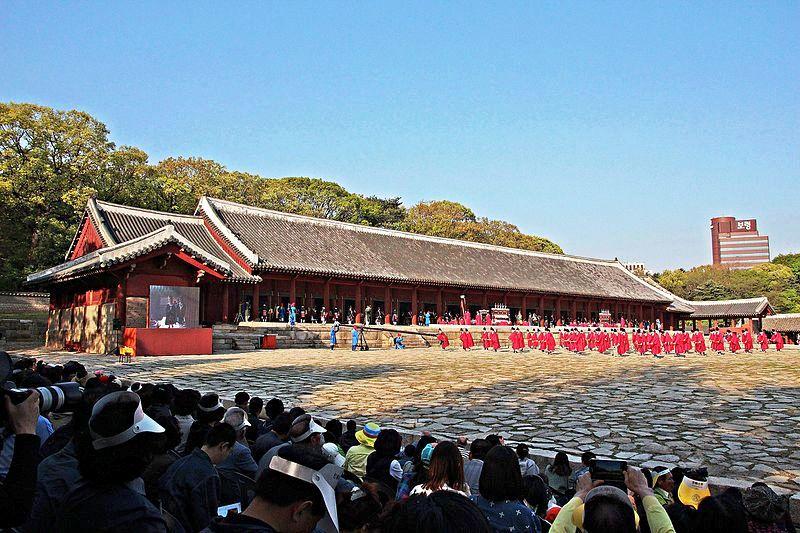 Jongmyo Shrine In Seoul