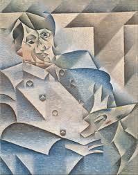 Juan Gris's cube portrait of Pablo Picasso