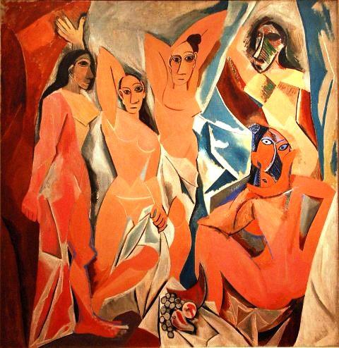 Les demoiselles d'Avignon, Pablo Picasso, 1907