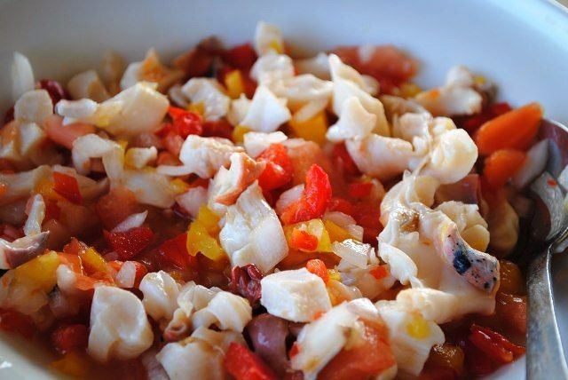 Long Island conch salad