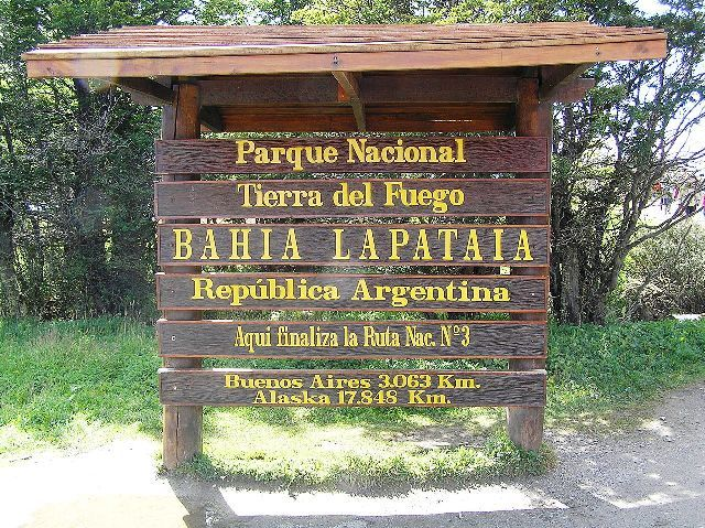 Sign Board of Park