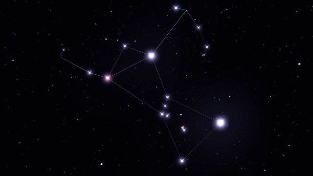 Stars of Orion Constellation