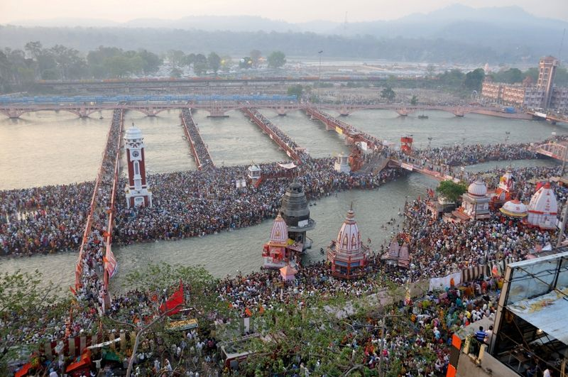 The Kumbh Mela At The Haridwar