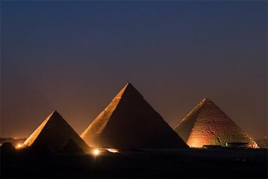 Three Pyramids are aligned with Orion