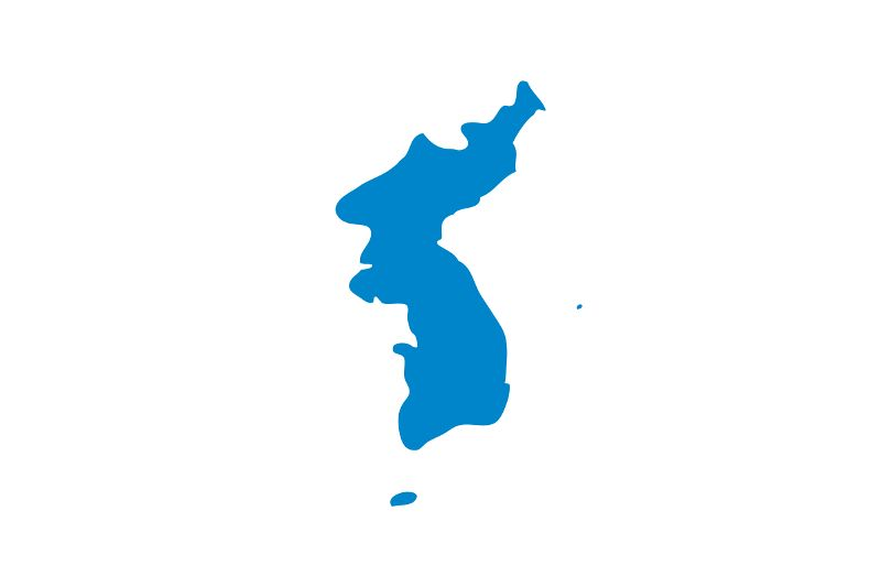Unification Flag Of Korea