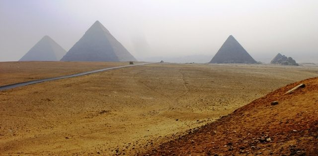 View of the Giza Plateau