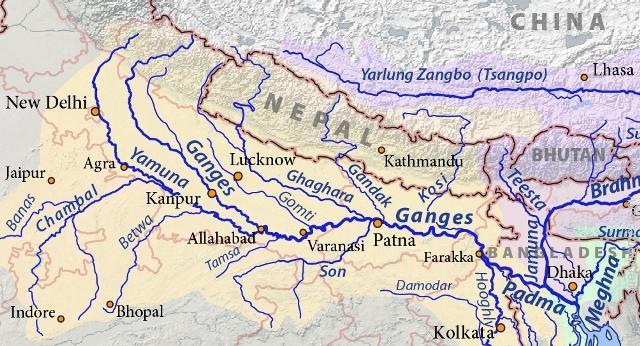Ganga Yamuna river system