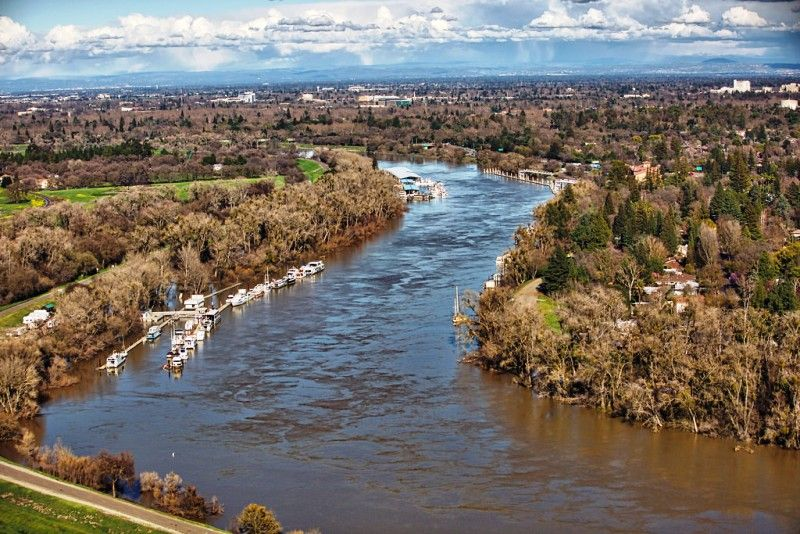 Sacramento–San Joaquin River Delta In California