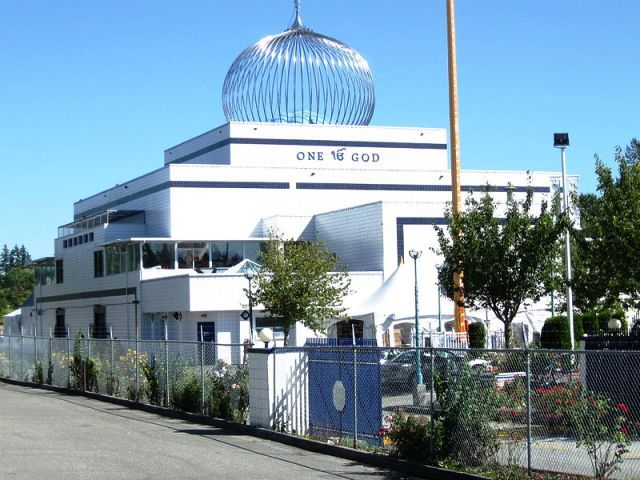 The Guru Nanak Sikh Gurdwara for Delta-Surrey in BC, Canada