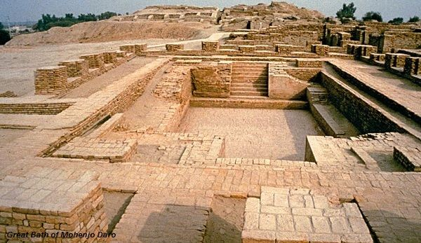 The great bath of Mohenjodaro