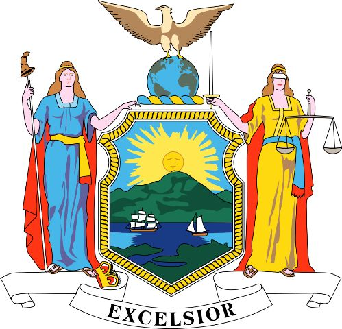 Coat of Arms of New York State Flag