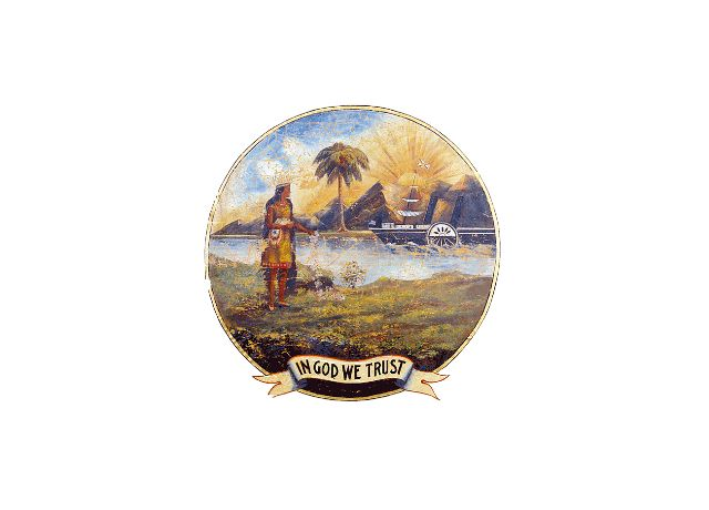 Flag of Florida (1868–1900)
