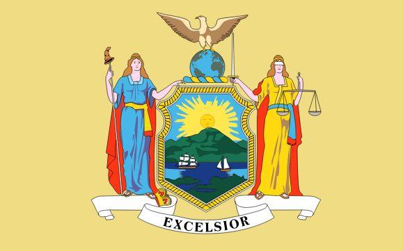 Former flag of New York