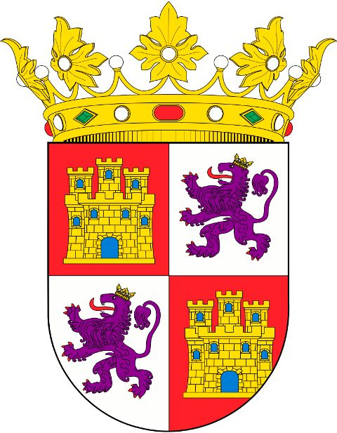 Royal Coat of Arms of the Crown of Castile