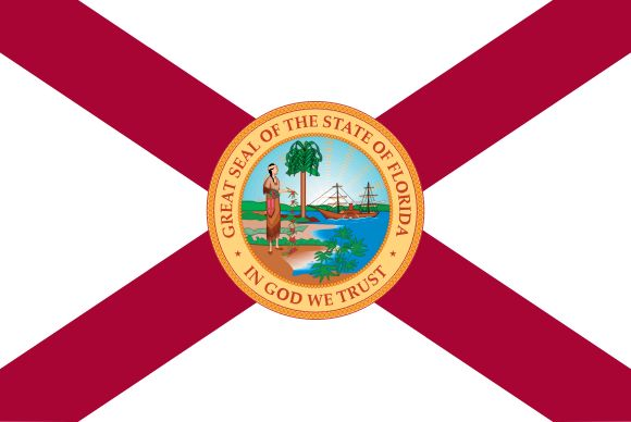 The Flag of Florida (1900-1985)