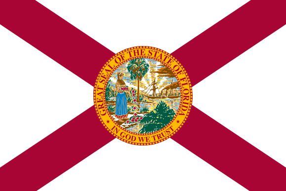 The current Flag of Florida