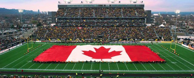 Largest Canadian Flag