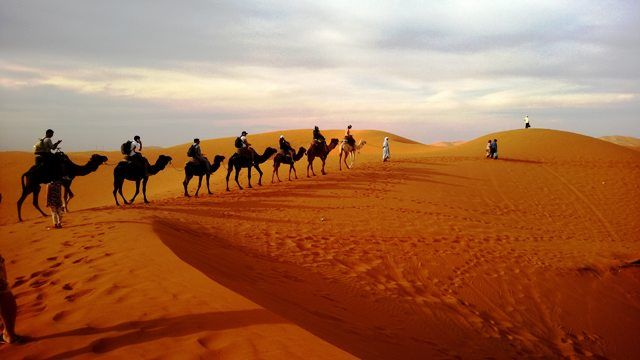 People in Sahara are nomads