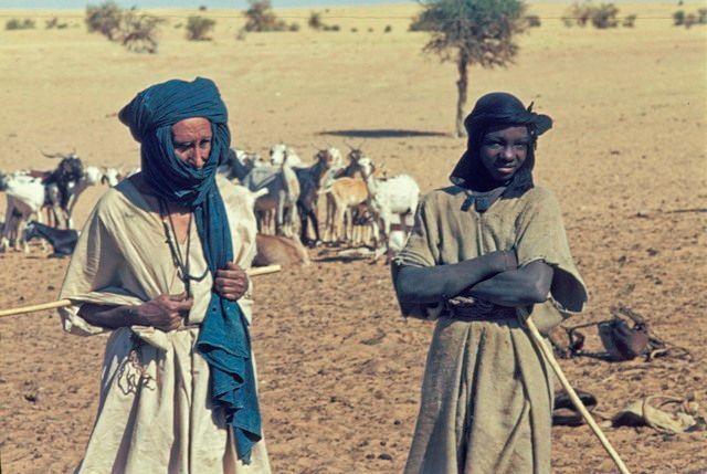 Taureg people of Mali