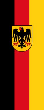 Flag of the Government of Germany (Vertical)