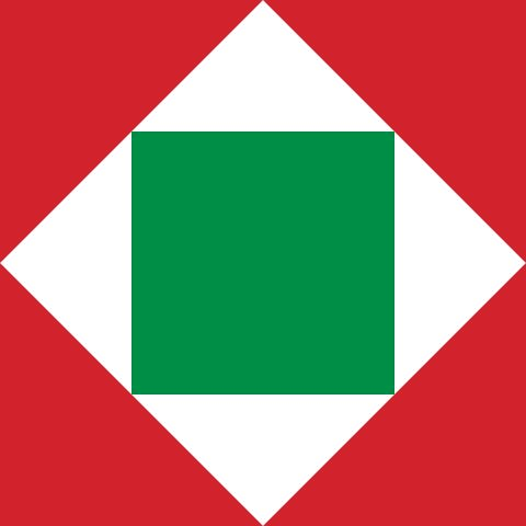 Flag of the Italian Republic in Nepoleon Era (1802-1805)