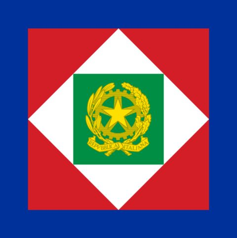 Flag of the President of Italy