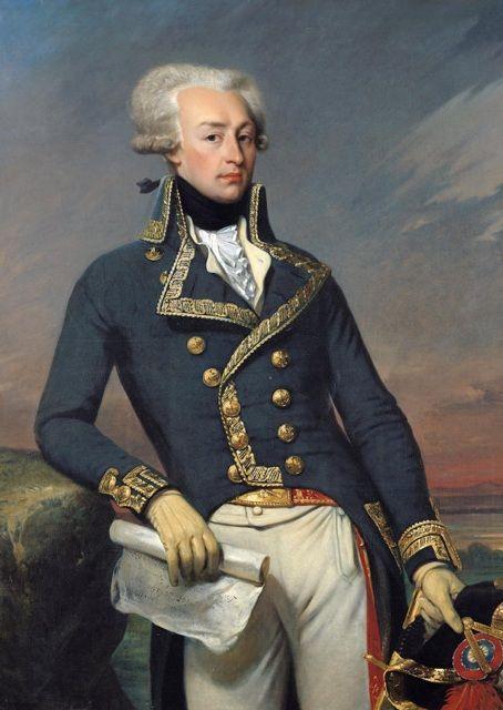 Portrait of Lafayette