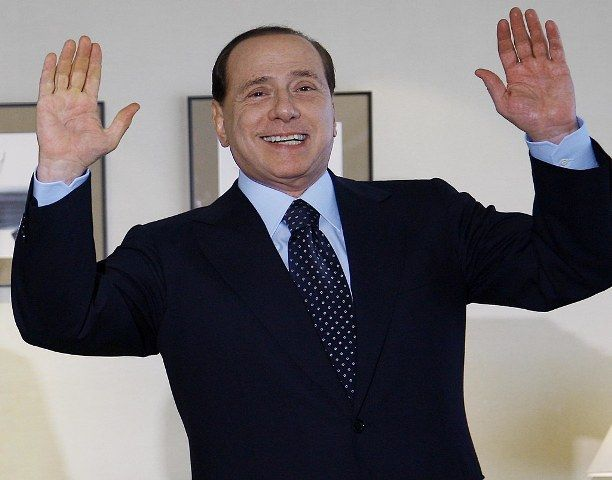 Silvio Berlusconi, the former Prime Minister of Italy