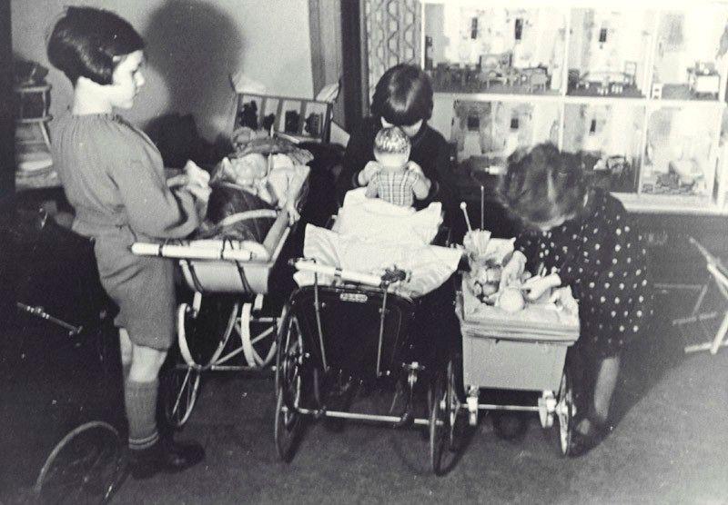Children With Their Hanukkah Gifts