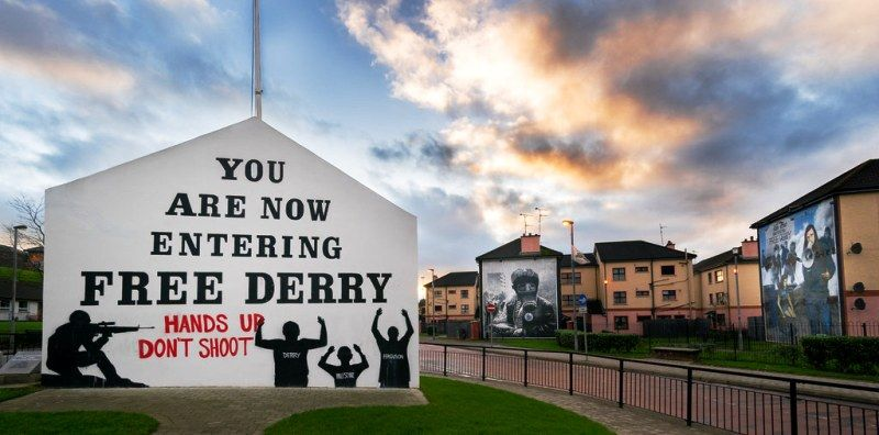 Free Derry Corner Northern Ireland