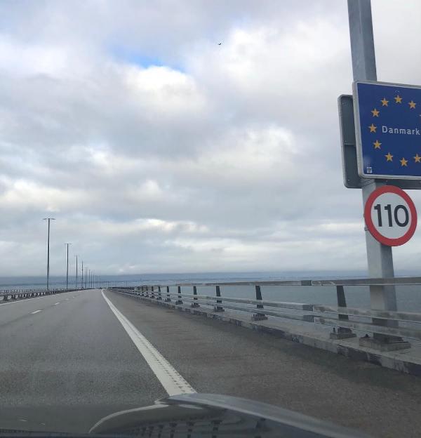 Greta Thunberg on Her Way to London in an Electric Car