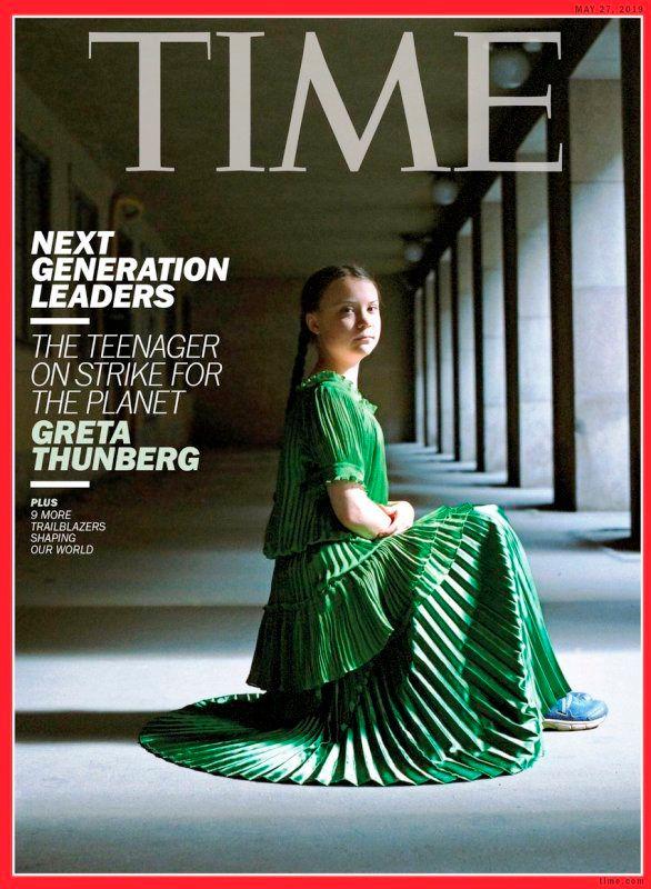 Greta Thunberg on the Cover of TIME Magazine