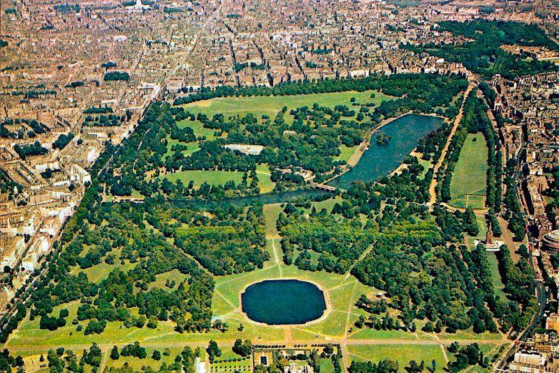 Hyde Park, Ariel View