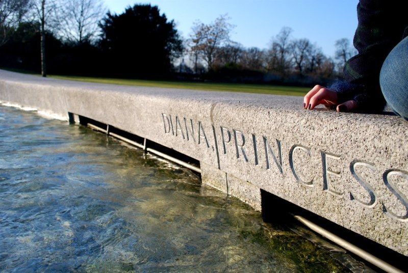 Princess Of Wales Memorial Fountain