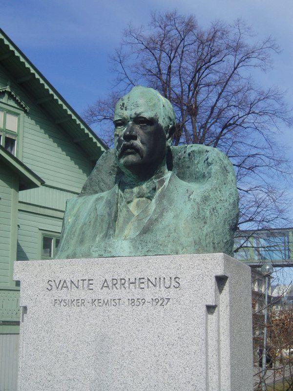 Svante Arrhenius Statue Stockholm University