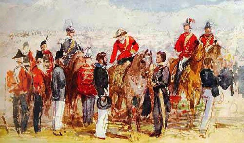 The First Victoria Cross Ceremony, 1857