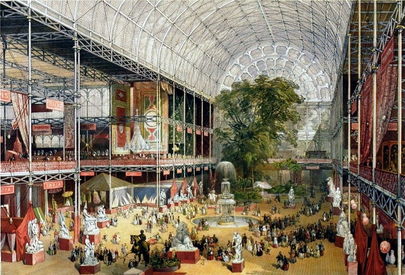 The Interiors Of Crystal Palace