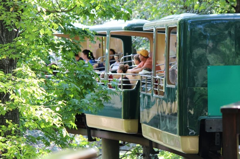 Bronx Zoo Monorail