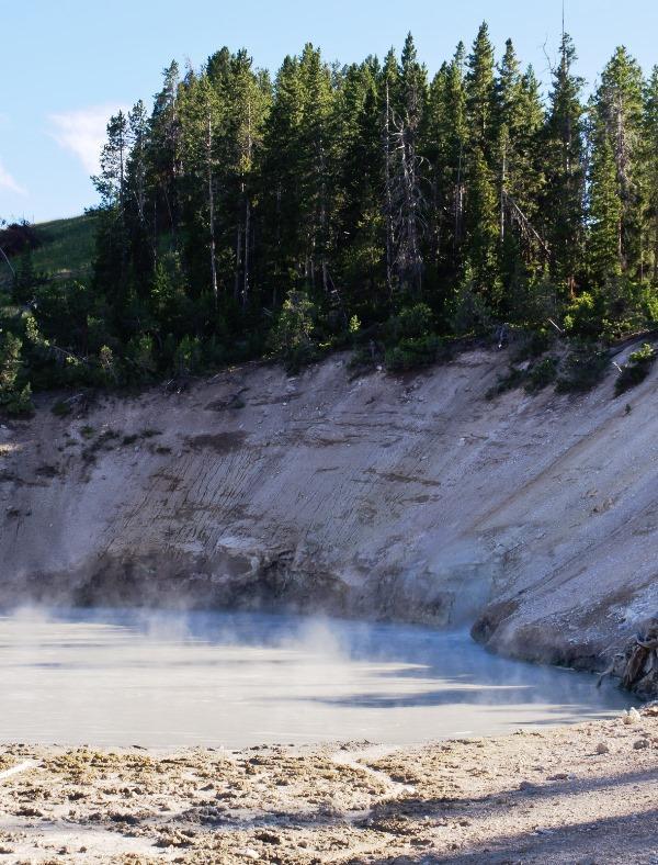 Mud Volcano, Yellowstone National Park